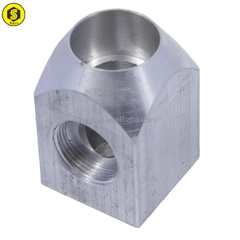 OEM high precision custom stainless steel/brass cnc turning lathe machining part