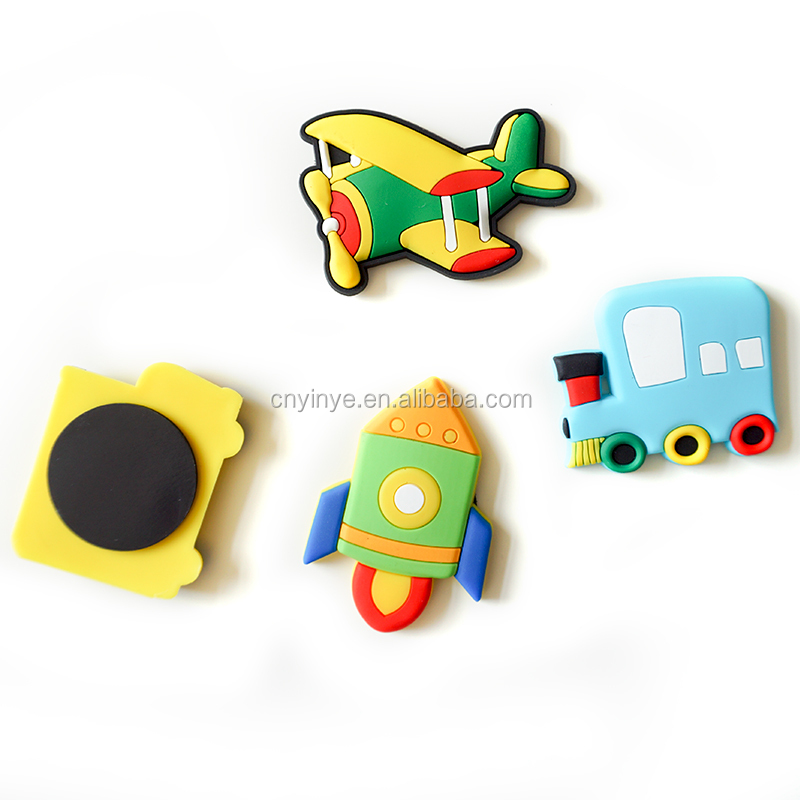 Soft pvc fridge magnet pvc rubber fridge magnet animals fridge magnet factory