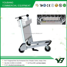 2015 New best selling 3 wheels aluminum alloy airport trolley cart with brake (YB-AT01)