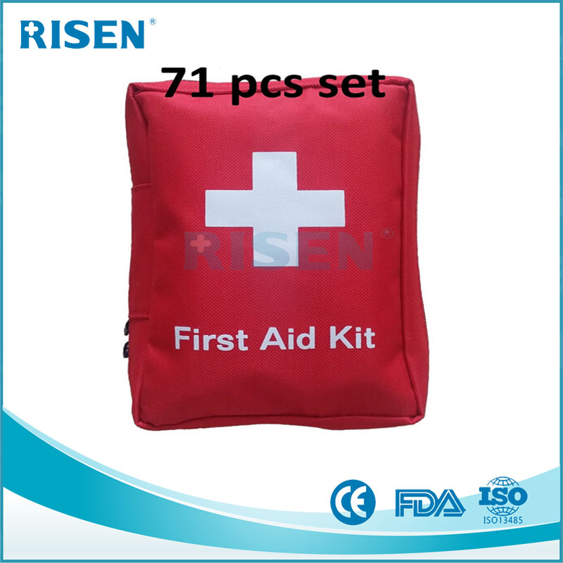 Factory small waterproof first aid bag travel emergency kit