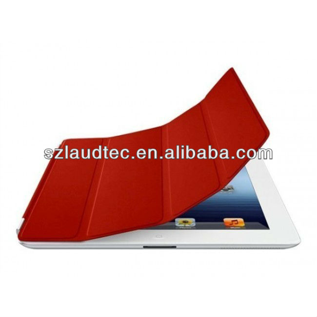 Pu Leather Magentic Folio Smart Cover Case For iPad 2 also New iPad 3/4