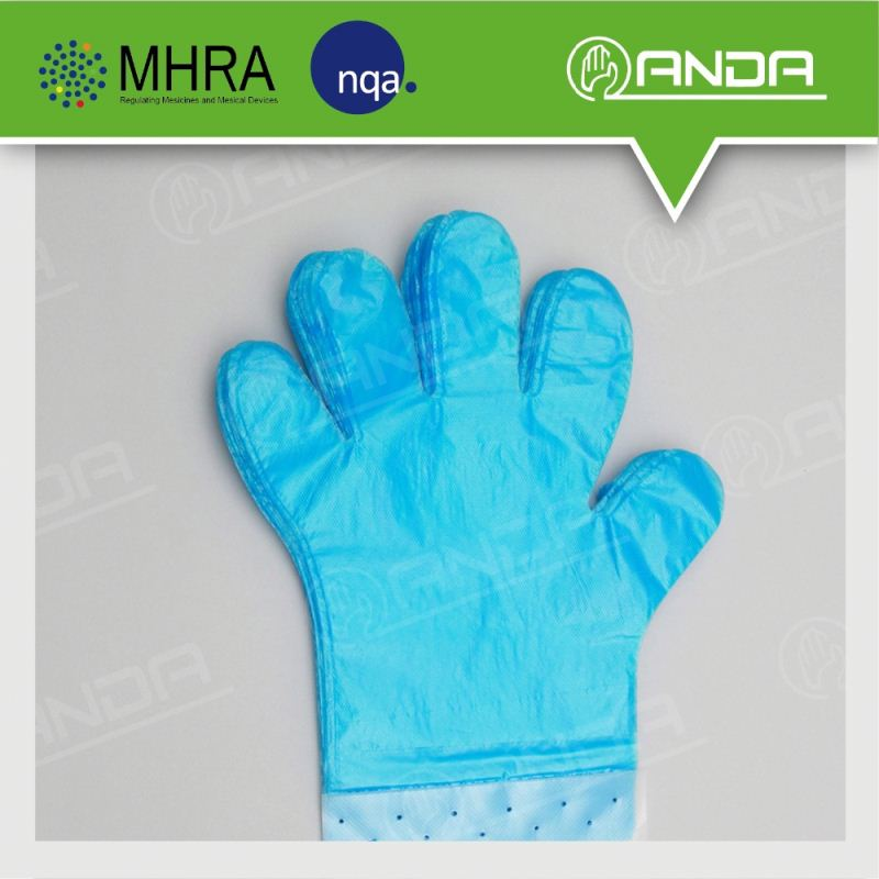 AD001 china wholesale cleaning products disposable pe gloves manufacture