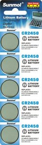lir2450 3v lithium ion button cell battery