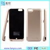 Shenzhen Mobile Power Supply, Smart Battery Case With Flip Cover For Iphone 6 6s
