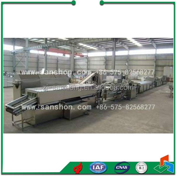 vegetable quick frozen processing plant/processing line