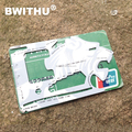 BWITHU China Wholesale Multi Pocket Survival Credit Card Tool