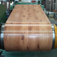 Wooden Color Finished Galvanized Steel