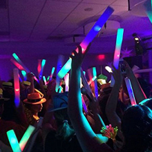 Three modes light up party <strong>supplies</strong> led glow foam sticks for Wedding, Party, Halloween