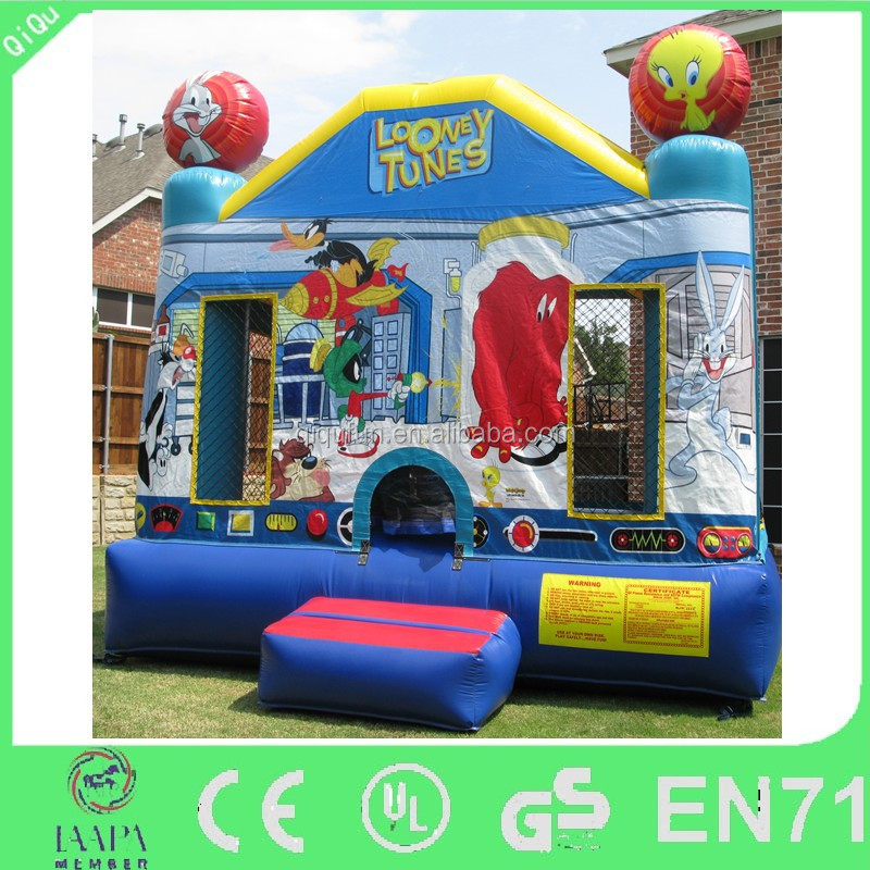 famous cartoon character looney tunes bouncer kids inflatable bounce house