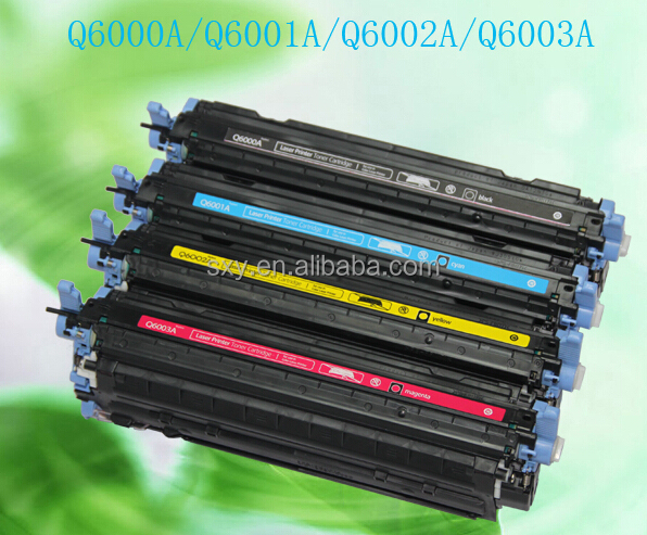 Color Toner Cartridge for HP 124A Q6001A Q60001A Q6002A Q6003A