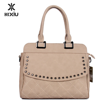 kkxiu dropshipping italian vegan leather systyle ladies handbags yiwu