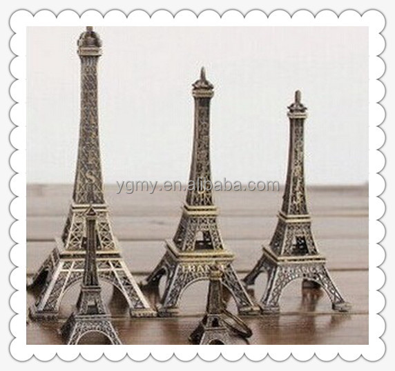 Wedding table Centerpieces paris Alloy Eiffel Tower home Metal craft decoration