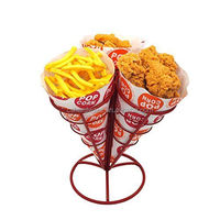 Buffet French Fries Stand French Holder food pizza cone holder