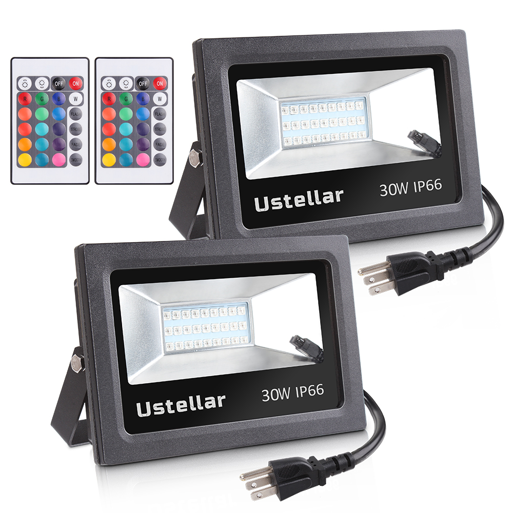 30w RGB high quality color changing flood lighting outdoor indoor led flood light
