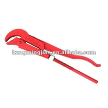 hot selling heavy duty ratchet pipe wrench,woodworking slanting pipe wrench
