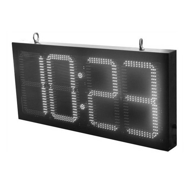 High quality Outdoor waterproof IP65 RF programmable LED time sign