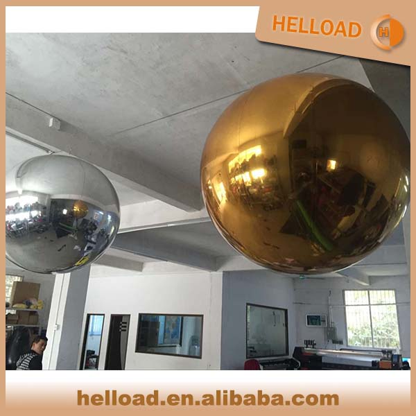 Hot Selling Decoration/party Large Inflatable PVC Mirror Ball