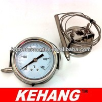 Wika Type Pressure Temperature Gauge