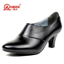 New style footwear genuine Leather american ladies shoes