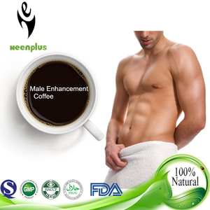 Private label chinese top quality male enhancement coffee for strong men