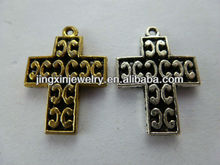 Metal Small Metal Crosses Wholesale Pattern Pendants Ornaments