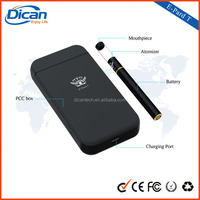Dican new smart case e cigarette with pcc case charging e cig battery , new mini empty atomizer cartridge .3ml , mini oil vapor