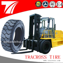 Alibaba china Industrial tires solid rubber truck forklift tire 300-15
