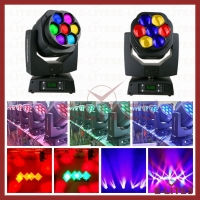 Kaleidoscope and Vortex effects mini bee eye stage light, moving head beam