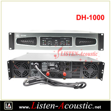 DH-1000 Professional 1 U Class D power amplifier with DSP