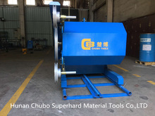 45kw high efficiency china used marble block cutting machine for sale