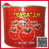 Bulk Buy Chinese canned tomato paste in sauce canned tomato paste 2.2kg