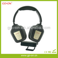 Hang transmitter FM wireless headset with stereo sound