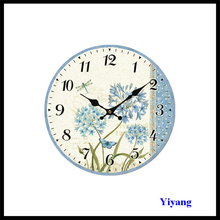 2017 Fashionable Young Town Quartz Clock Movements