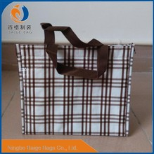 cheap recycled laminated pp non woven custom cooler bag