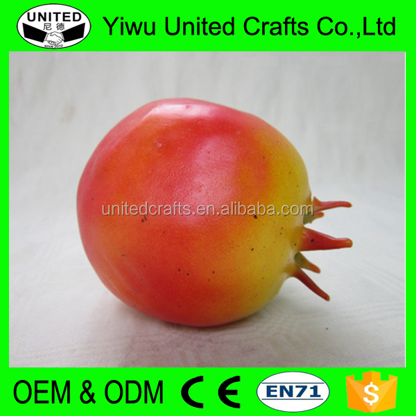 Different colors pomegranate Christmas decoration plastic artificial fruits