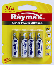 LR6 AA ALKALINE BATTERY 1.5v
