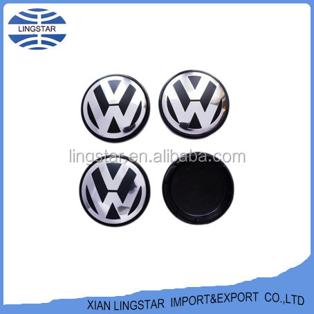 ABS Car Wheel Hub Cap Sliver of Wheel Center Cap for Volkswagen Wheel cap