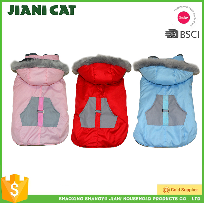 Outdoor windproof warm dog coat