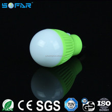 Portable USB power light 3w night light mini led bulb lights