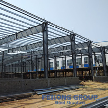 Fully customized steel structure car garage