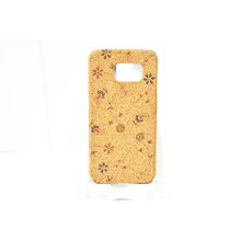 Hot Sale In Europe Custom Personal Pattern Cork Wooden Cell Phone Case For Samsung