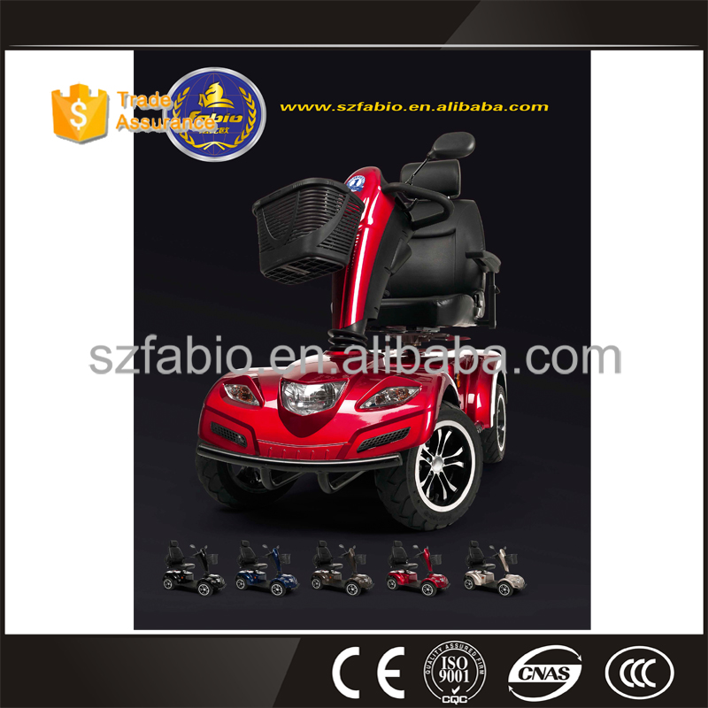 4 Four wheels electrical Handicapped Mobility Scooter for adults old people