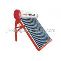 Unpressurized BEARING Solar Water Heater three elements vacuum tube