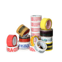 High Quality Custom DHL Logo Printed Tape