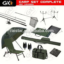 Carp Set Complete and Fishing Tackle Set and Fishing combo set live bait bibi