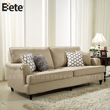 latest design soft and comfortable fabric modern classic sofa set for living room
