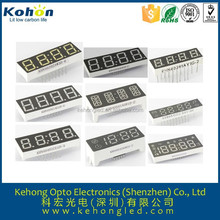 Costomized, Golden seller 0.36'' inch White color single digit7 segment LED display