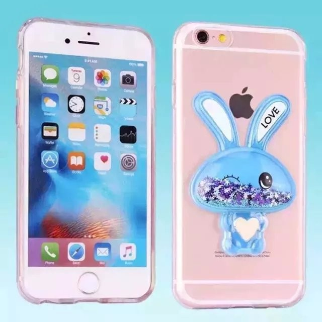 for iphone 6 bling glitter liquid clear mobile phone 3d case for iphone 6 6s 6plus