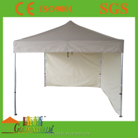 Outdoor family leisure camping tent with windows