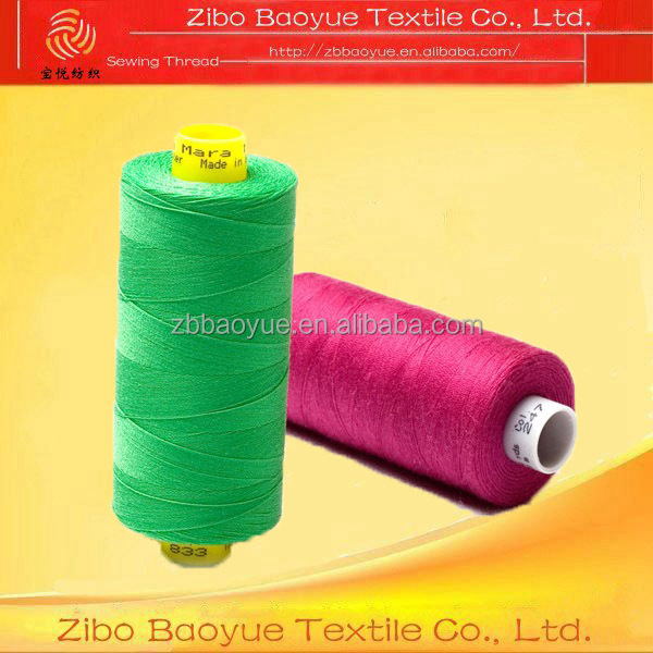 Tailoring materials high tenacity polyester yarn thread polyester